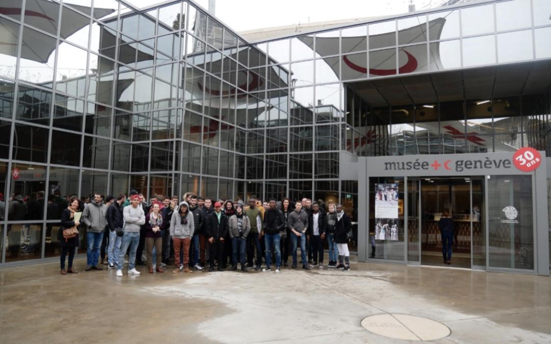 Pôle formation Isère : Visite de l'ONU et du Musée International de la Croix Rouge