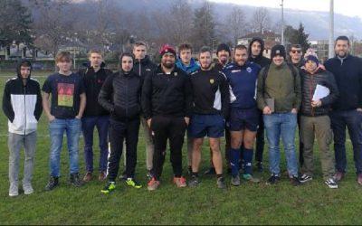 Lancement du projet entre le POLE FORMATION SAVOIE et les talonneurs du SOC Rugby (Club de Chambéry)